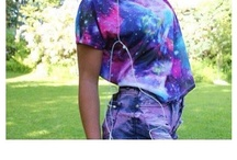 Galaxy / I'm seriously obsessed with galaxy things