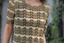 crocheted tops *inspiration* / by Karen Herndon