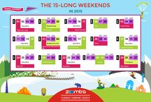 Long weekends for 2015