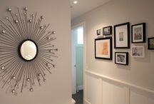 Hallway decorating / by Kathleen Snyder
