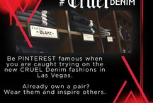 "Caught by #CRUELDenim - NFR 2015 / Be Pinterest famous when you are caught trying on the new Cruel Denim fashions in Las Vegas.   Already own a pair? Wear them and inspire others.  We will be looking for you to be ""Caught by #CRUELDenim"