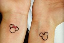 Tatouages de couple disney