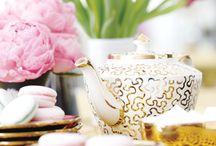 A Golden Tea Party / by Cake & Bake