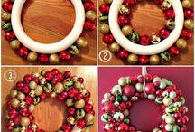 tutorial para hacer una corona de navidad con papel periodico / reciclar papel periodico