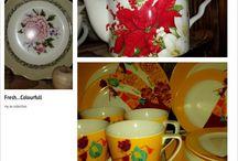 Plates, Tea Cup, Wall Plate... Kacapiring