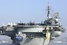 Aircraft Carrier USS Constellation