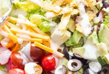 Salad, Salad, Salad / Healthy, nutritious (and delicious!) salad recipes / by Susan Bronson