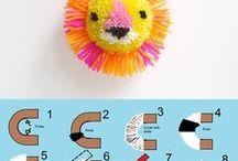 игрушки из ниток