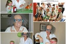 Abbie's 8th Birthday-SCIENCE! / by Roza Vickers