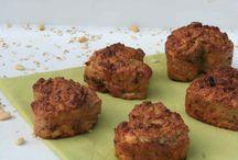 Food havermout en gezonde muffins
