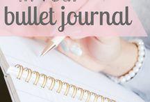 Plannen en bullet journal
