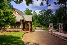 The Thoms Estate / The Thoms Estate is an 83 acre gated community minutes from downtown Asheville, NC. It boasts open spaces, private living and an active, yet relaxed atmosphere with first class amenities.