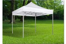 Gazebo Tents 30x30mm Profile / Our Gazebo Tents with their 30x30mm Aluminum Frame are so stable that you can even hang yourself on it. High quality!