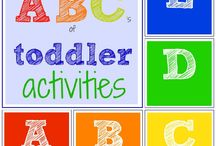 Learning Activities for K / by Erica Vigil Carlson