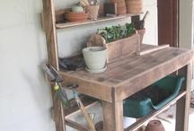 Istutuspöydät - Potting tables