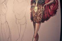 Fashion Illustrations / by Maureen David