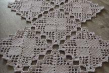 caminhos de crochê