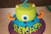 Cumpleaños Monster Inc