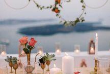 bohemiam modern wedding