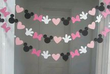 ideas para cumple minie y mickey