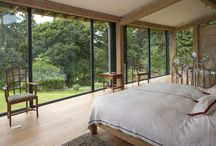 Bedrooms / A selection of bedrooms in Carpenter Oak and Woodland homes