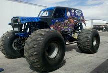 BIG and BAD Trucks / by Chase Powell
