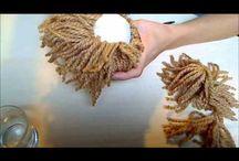 cabello en lana
