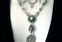 Vintage jewellery repurposed
