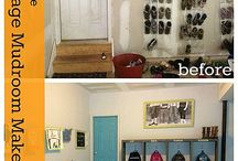 Garage mudroom / by ylem boop