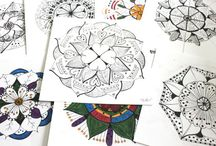 Mandalas / it's all about my  journey with mandalas / by Lynda Heines