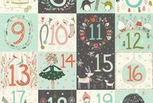 christmas advent calendar printables