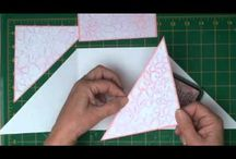 Youtube inspiration 3d cards,popop Cards