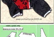 Модели одежды для собак