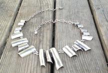 Change yourself / Turkish zinc Necklace