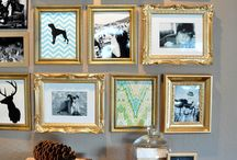 Wall photo frame ideas