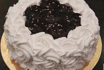 rosette cakes / choco vanilla rosette cake