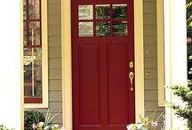 Front door frame