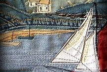 Q...is for Quilting!!!!! / I love the feel of the fabrics and how they speak to me..