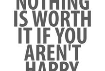 Words on happiness
