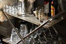 Bar carts and Bars