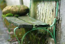 Garden: benches / Garden benches & seating
