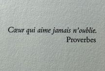 citations et proverbe