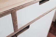 Birch plywood furniture