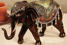 cerámica elefante