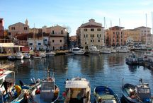 TOWN AND VILLAGES IN SARDINIA / cityscapes in Sardinia