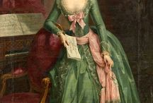 18th century: Pink and green / Pink and green.