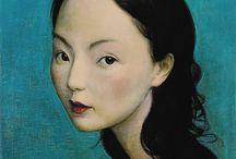 Asian contemporary art / Art / by Eliana B.