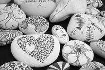 Sten / Male på sten