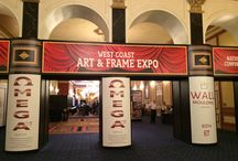 2015 Conference / Fastframe reception kicking off the 2015 West Coast Art & Frame Show