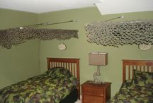 Reece's Camo Bedroom